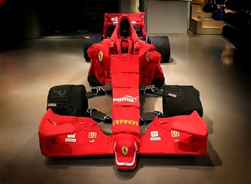 Puma построила тряпочный Ferrari…